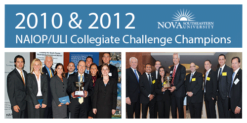 NSU MSRED wins South Florida NAIOP Challenge