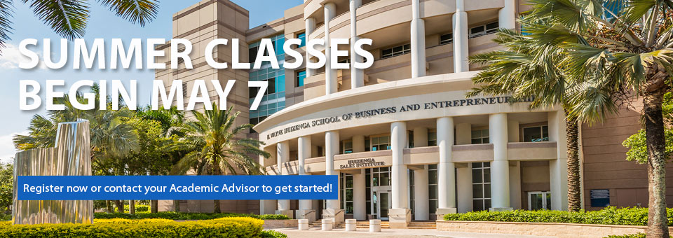 Huizenga College of Business Master's Students